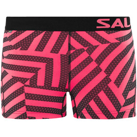 Salming Energy - Short running Femme - rose/noir